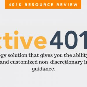 401k Resource Review: Active 401k